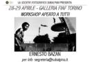 """Workshop di """"Editing"""" con il maestro Ernesto Bazan"""