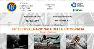 29° Festival Nazionale della Fotografia