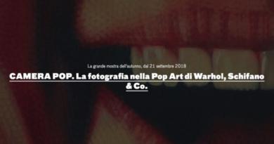 Camera Pop, la fotografia nella Pop Art