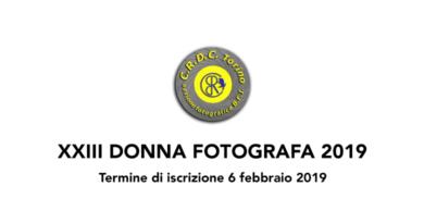 Donna fotografa 2019