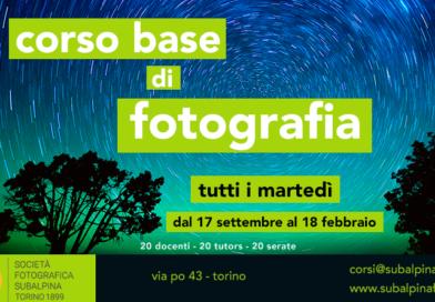 Corso di fotografia 2019-20