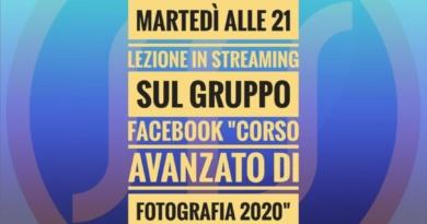Diretta Facebook: Corso di Fotografia, Fotografia e Arte