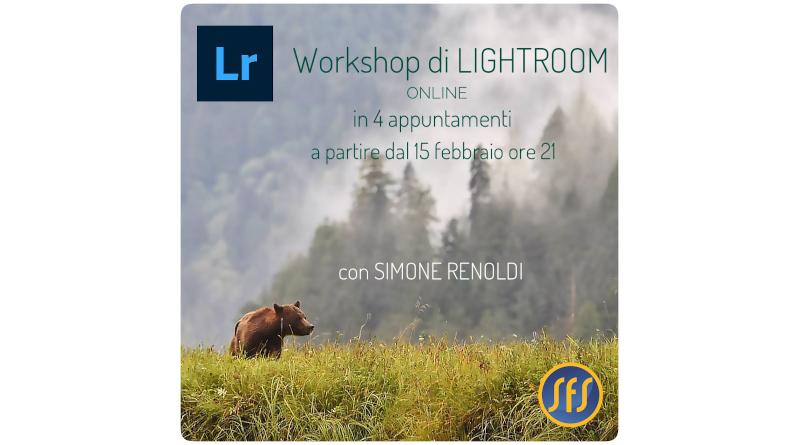 Workshop di Lightroom